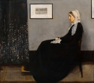 Arrangement in Grey and Black No 1, known as Whistler's Mother.