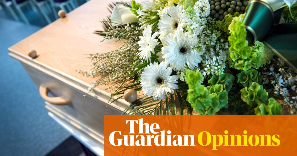What did my father's funeral teach me? Shared mourning is absurd – but essential