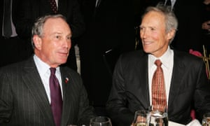 Michael Bloomberg and Clint Eastwood in 2007.