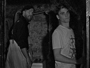 Isaac Woodvine and Edward Rowe as Neil and Martin in Bait.