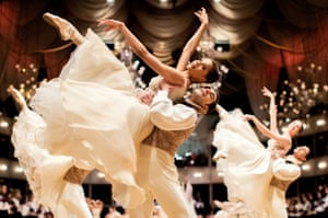 A dress rehearsal for the traditional Vienna Opera Ball