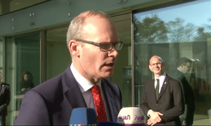 Simon Coveney, the Irish deputy PM and foreign minister