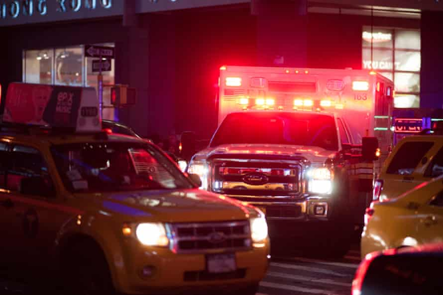 New Yorkers are accustomed to hearing the rapid, pulsating 'wail' and 'yelp' sirens that echo around town.