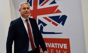 Stephen Barclay,secretary of state for exiting the European Union.