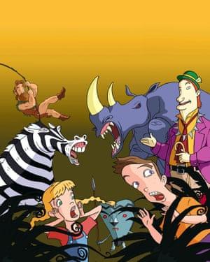 Jumanji TV Cartoon (1996).