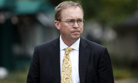 Mick Mulvaney, Trump's pick for the CFPB, is currently director of the Office of Management and Budget.