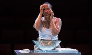 Golda Rosheuvel in Othello at Liverpool Everyman, directed by Gemma Bodinetz in 2018.