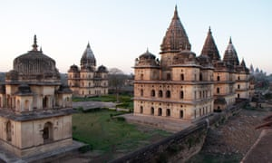 Part of Orchha's temple complex.