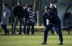Toulouse Olympique coach Sylvain Houles.