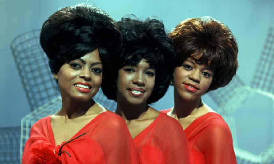 Diana Ross, Mary Wilson and Florence Ballard on the Thank Your Lucky Stars' TV show in the 1960s