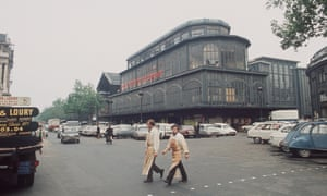 'The most violent act ever committed against the heritage of Paris' ... Les Halles in 1971, shortly before its demolition.