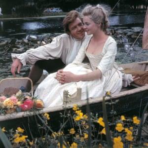 Albert Finney and Susannah York in Tom Jones, 1963