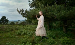 Model, activist and author, Lily Cole, photographed in the Sussex countryside