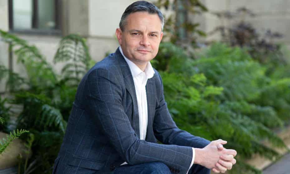 James Shaw, the man behind New Zealand's zero carbon bill