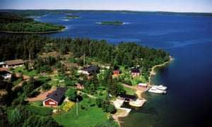 The Aland Islands in Finland.