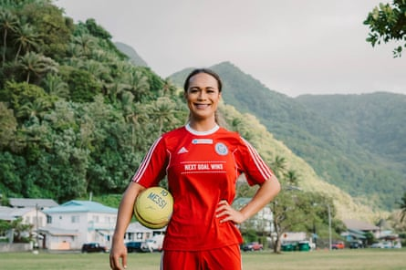 Jaiyah Saelua is the world's first transgender international footballer. Saelua is featured in the 2014 documentary Next Goal Wins.