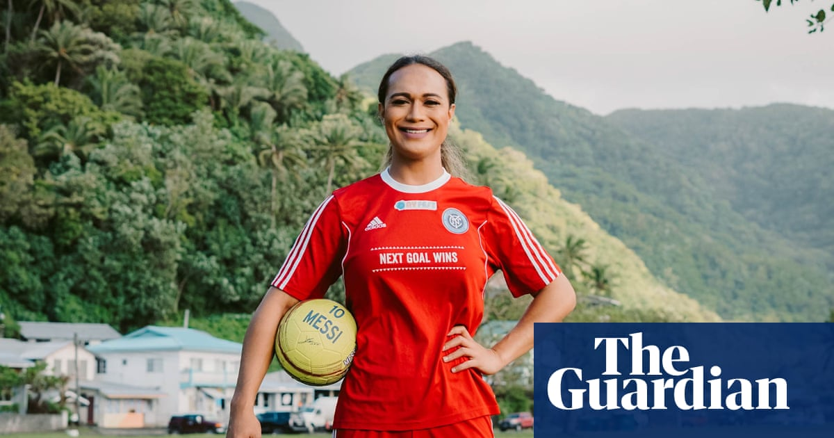 Footballs first fa'afafine: trans rights trailblazer Jaiyah Saelua on stardom and sisterhood