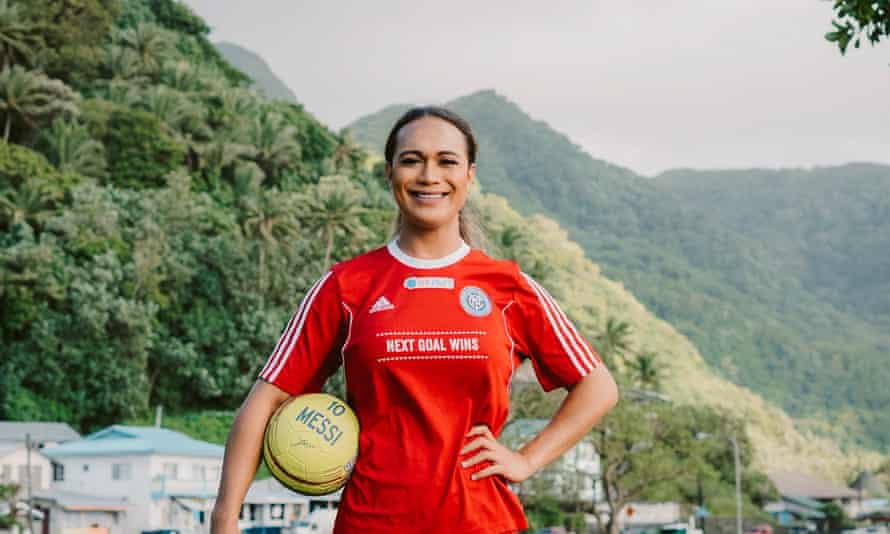 Jaiyah Saelua of American Samoa, the first transgender player to appear in a men's World Cup qualifier, is featured in the documentary Next Goal Wins.
