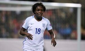 England footballer Eniola Aluko.