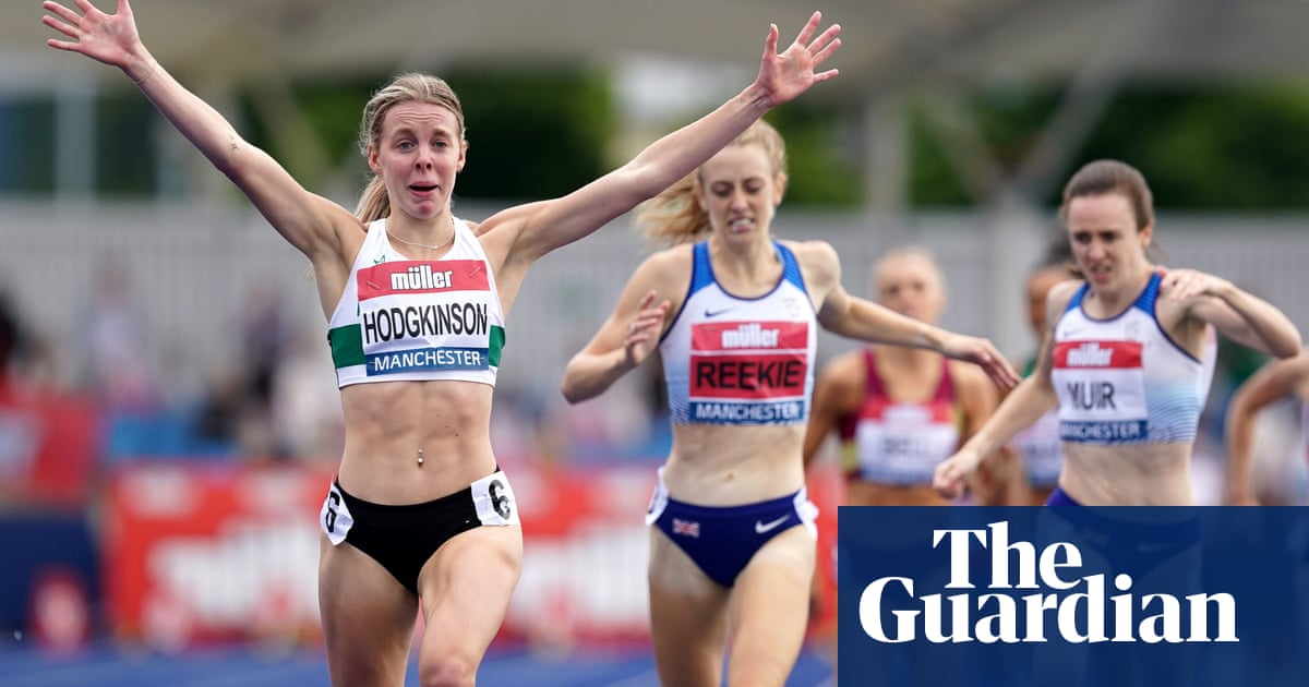 Keely Hodgkinson books place at Olympics with searing 800m triumph