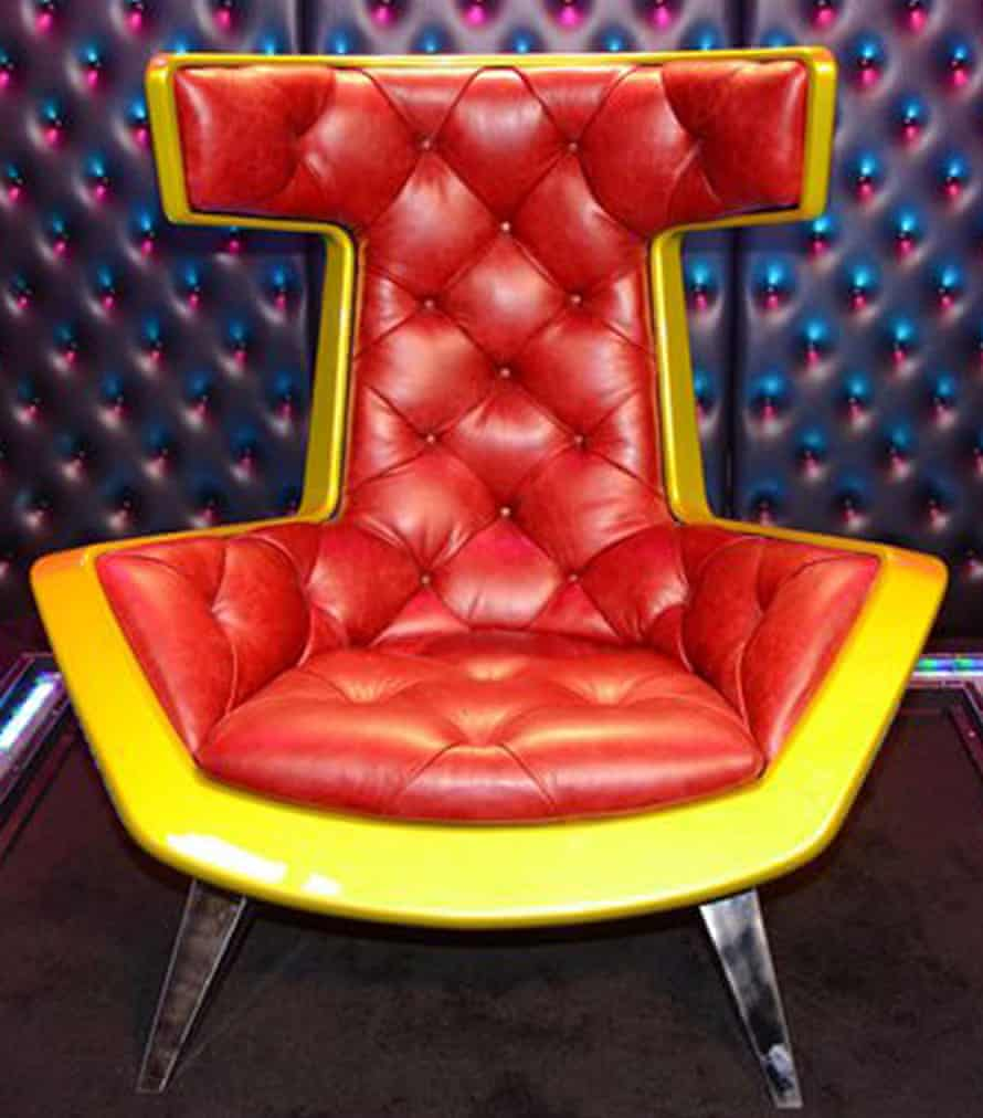 Celebrity Big Brother chair