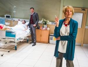Woe beneath the waspishness … Maggie Ollerenshaw as Carol.