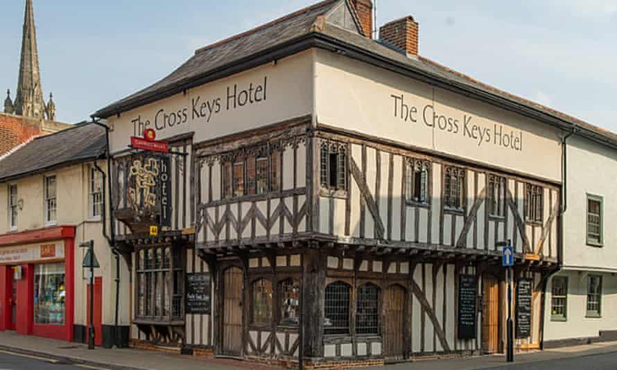 Cross Keys Hotel, Saffron Walden, Essex.