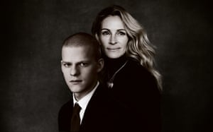 Composite of Julia Roberts and Lucas Hedges