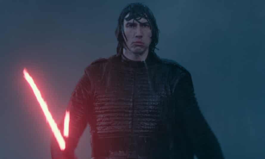 Adam Driver is Kylo Ren in Star Wars: the Rise of Skywalker.