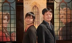 Final Fantasy VII Remake's Naoki Hamaguchi and Yoshinori Kitase.