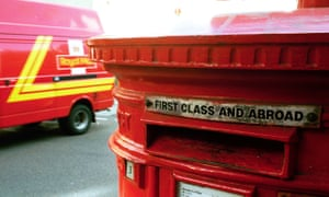 Royal Mail provides letter and parcel delivery services to 30m homes and businesses.