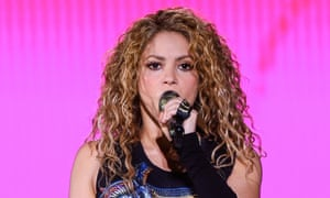 Shakira in concert in Istanbul, Turkey, July 2018.