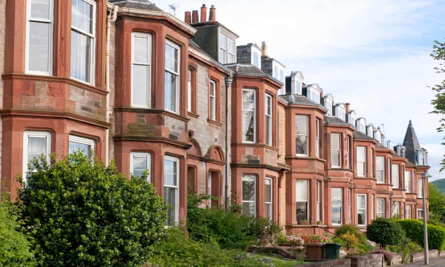 Residential Street in Scotland