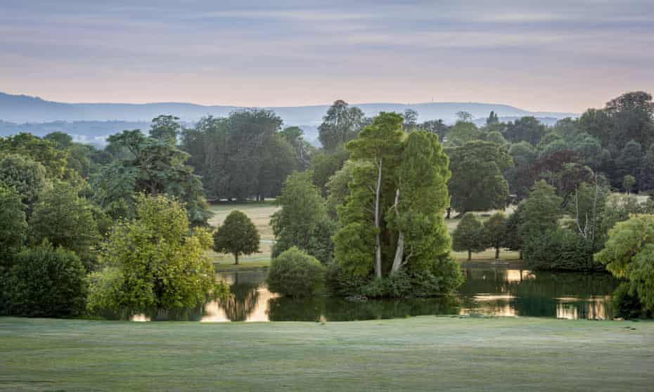 Petworth Park, West Sussex, landscaped by Capability Brown between 1753 and 1765.