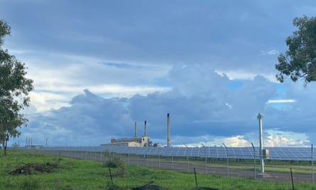 smoke stacks from coal power plant