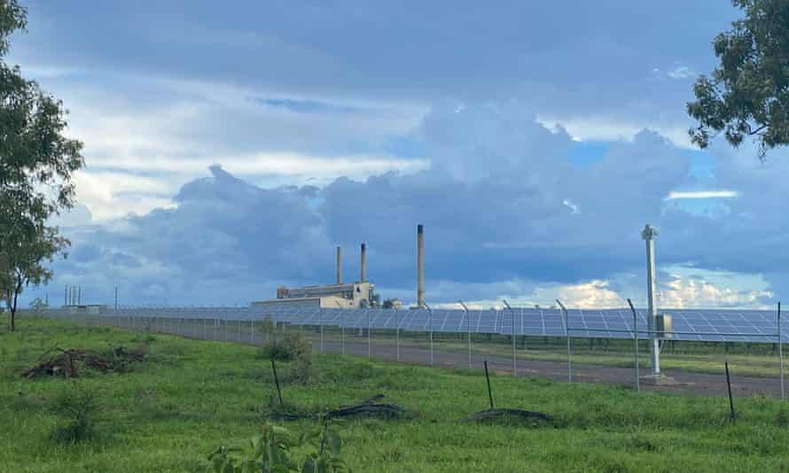 The Collinsville power station in Queensland