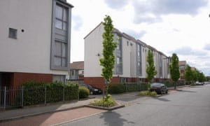 Rayners Lane Estate in the borough of Harrow, outer London, rehoused 400 existing tenants in new homes on the estate.