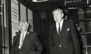 Harold Wilson and James Callaghan