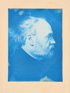 An auto-portrait by Emile Zola from about 1900.