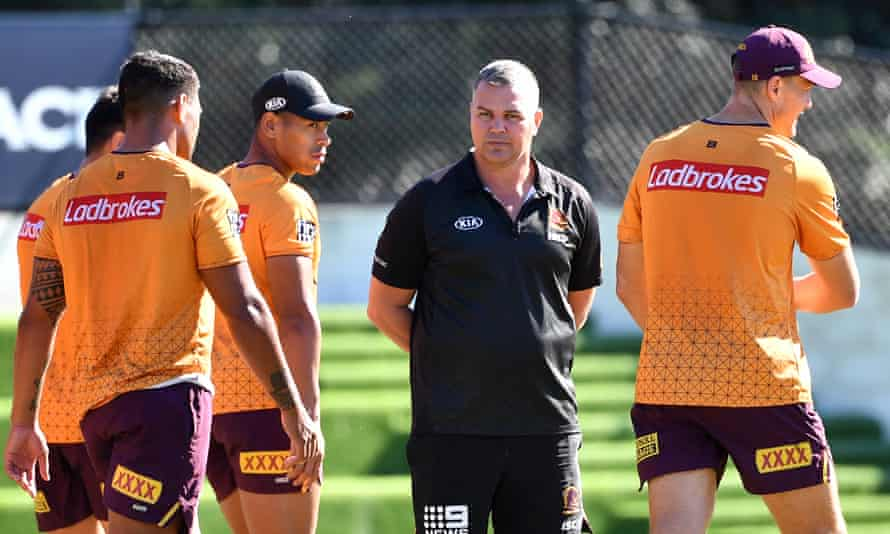 Anthony Seibold had a tempestuous exit from Brisbane Broncos in 2020 but has been brought in as England's defence coach by Eddie Jones.