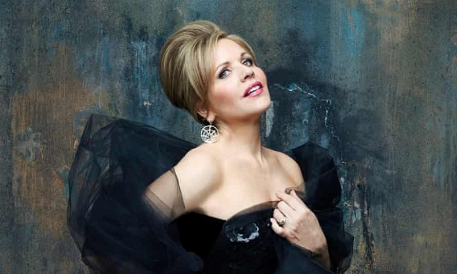 American opera singer Renee Fleming who will perform at the Sydney Opera House, Australia in 2015
