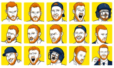 The many faces of Ben Stokes