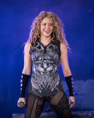 Shakira, who has been part of the avant garde of the Latin wave.