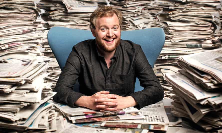 Miles Jupp, host of The News Quiz, BBC Radio 4.