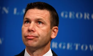 Acting department of homeland security (DHS) secretary Kevin McAleenan on 7 October.