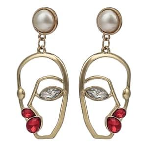 Juliet face earrings, £18, oliverbonas.com