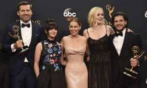 Throne away ... a big win for Game of Thrones couldn't lure viewers to the Emmys.