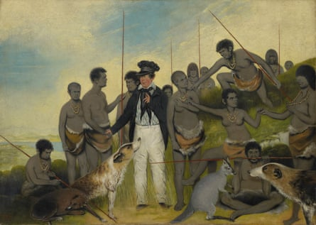 Benjamin Duterrau's The conciliation, 1840 oil on canvas, Tasmanian Museum and Art Gallery.