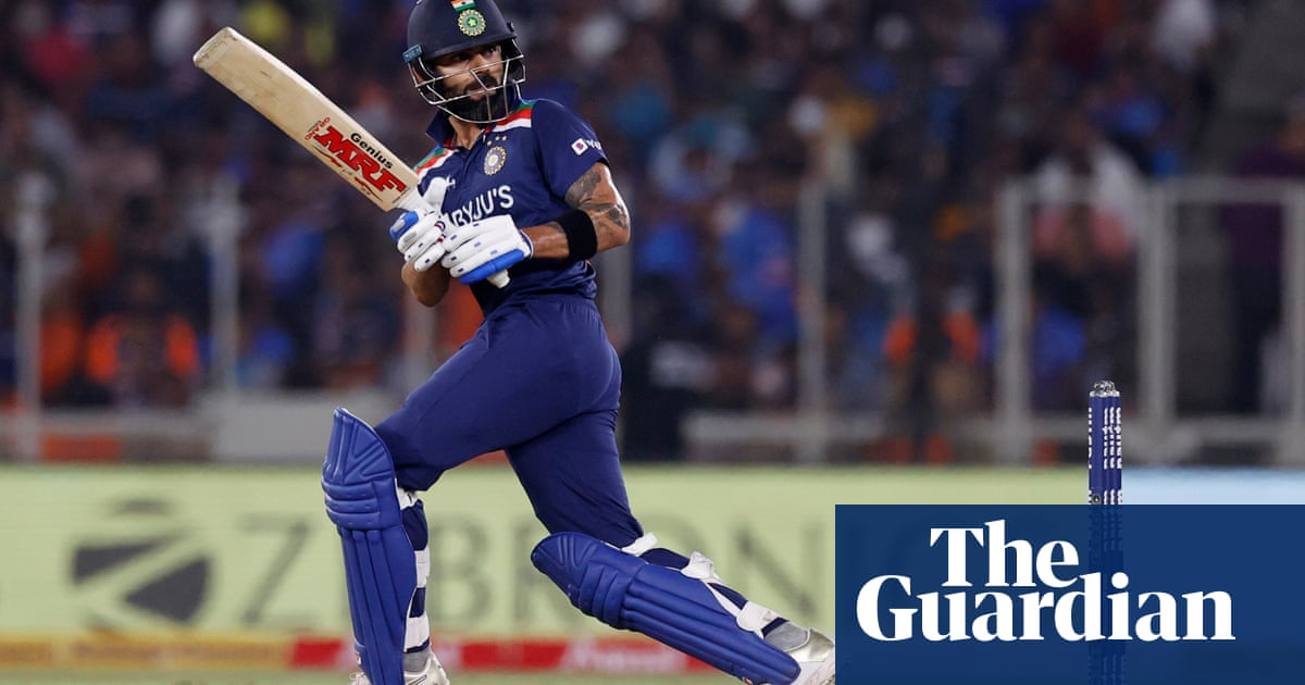 Virat Kohli leads India to T20 win to level series with England