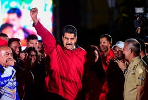 Caracas, VenezuelaVenezuelan president Nicolas Maduro claims victory in the controversial election for a constituent assembly
